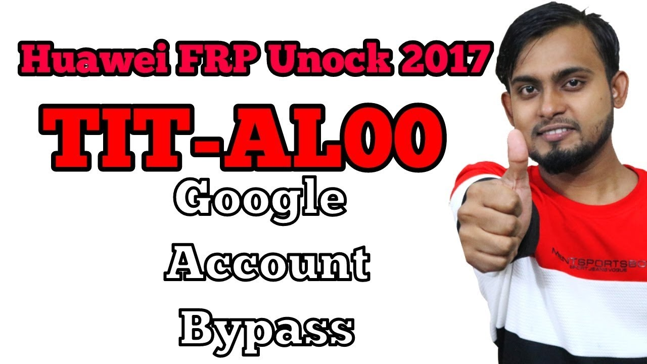 Huawei TIT-AL00 FRP Lock Bypass | Without Pc Huawei Google Account Bypass  2017