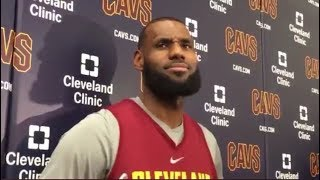 NEW LeBron James Funny Moments 2017-2018