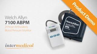welch allyn abpm 7100 24hr ambulatory blood pressure monitor