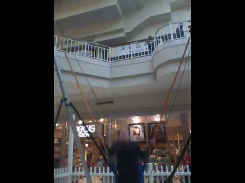 Topeka's West Ridge Mall Bungee Jump