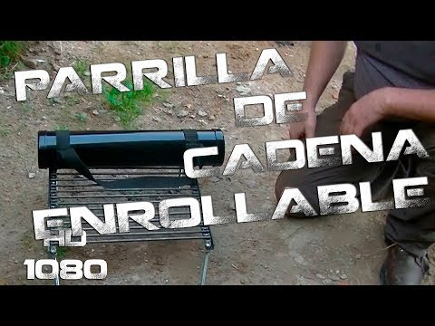 Parrilla de cadena (Plegable) | Chain grill (roll-up)