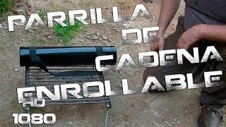 Parrilla de cadena (Plegable) | Chain grill (roll-up)
