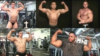 New bodybuilding muscle DVD - Iron Odyssey 2 - MostMuscular.Com - 5 bodybuilders