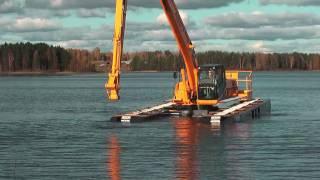 JCB JS220 REMU Big Float Eng