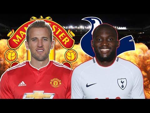 Manchester United Vs Tottenham - What If Lukaku & Kane Swapped Teams?! - FIFA 18 Sim