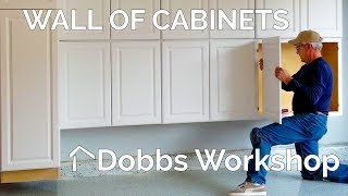 Installing Cabinets For Garage Storage
