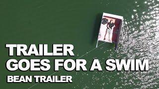Teardrop Trailer FALLS INTO LAKE!?