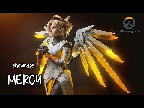 «Герои не умирают!» Косплей Ангела из Overwatch