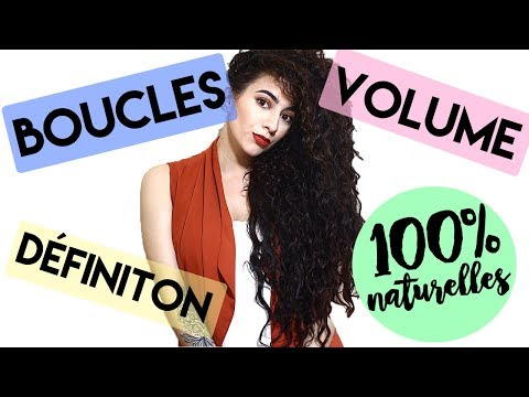 CURLY HAIR ROUTINE 100% NATURELLE