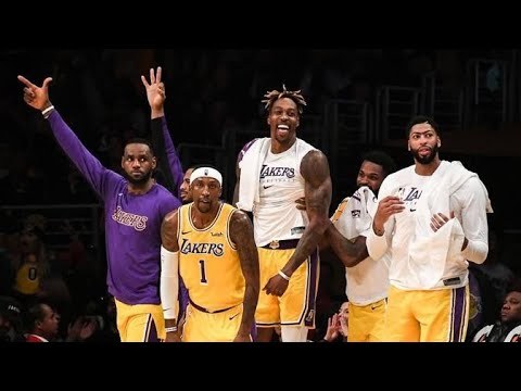 FUNNY LAKERS BENCH REACTION MOMENTS 2020