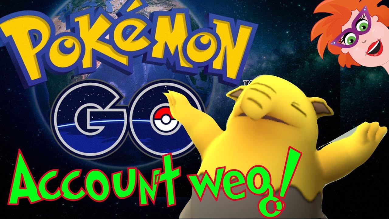 Pokemon Go Account Weg