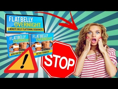 Flat Belly Overnight Review – Does it Really Work?