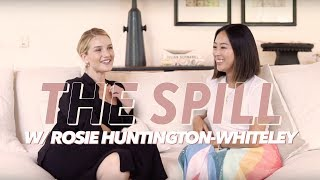 Rosie Huntington-Whiteley Shares Her Skincare Secrets | The Spill | Aimee Song