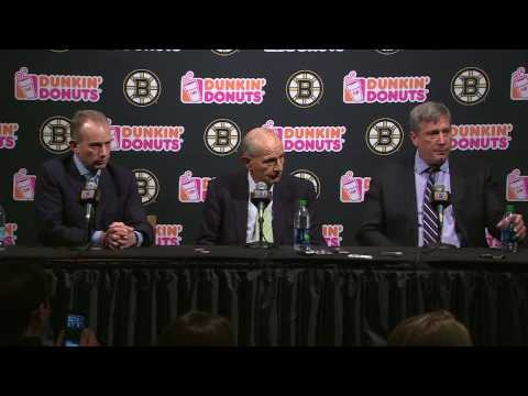 Charlie Jacobs, Jeremy Jacobs And Cam Neely Bruins End Of Year Press Conference