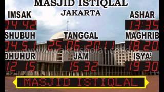 0813 1975 1770, jam dinding masjid, waktu sholat magrib jakarta hari ini