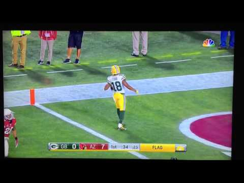 Throwback post: Randall Cobb making one of the greatest catches in NFL history that didn't count