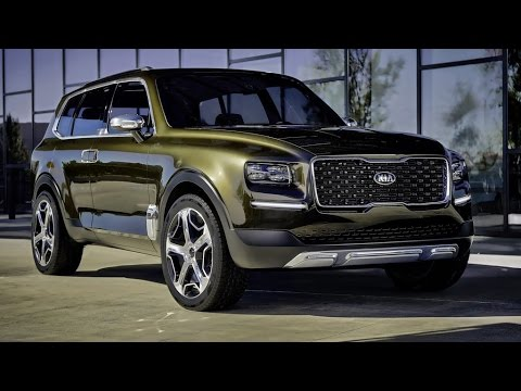 2016 Kia Telluride Concept Review Rendered Price Specs