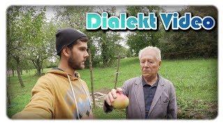Mit Opa Äpfel brechen | Dialektvideo + Untertitel