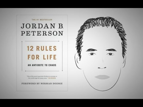 12 RULES FOR LIFE by Jordan Peterson | Animated Core Message