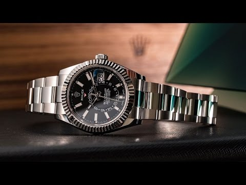 ROLEX -The 2017 Oyster Perpetual Sky-Dweller video review