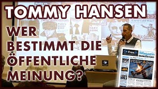 Tommy Hansen: Wer bestimmt die öffentliche Meinung?