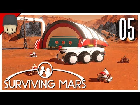 Surviving Mars - Ep.05 : COLONY EXPANSION & TUNNELS!