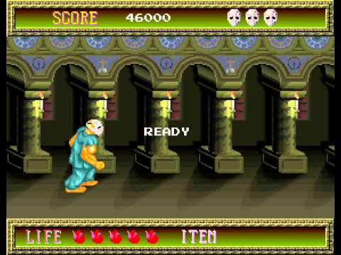 Splatterhouse arcade no death