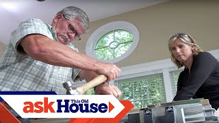How to Repair a Bad Flooring Joint | Ask This Old House