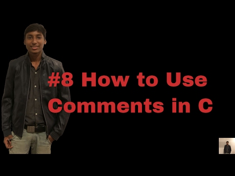 comments in c program