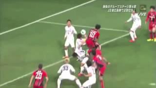 ACL サンフレッチェ広島対FCソウル戦でサンフレッチェ広島が立て続けに...