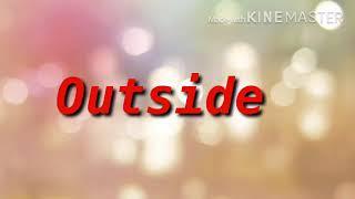 """Nick I Z """"Outside"""""""