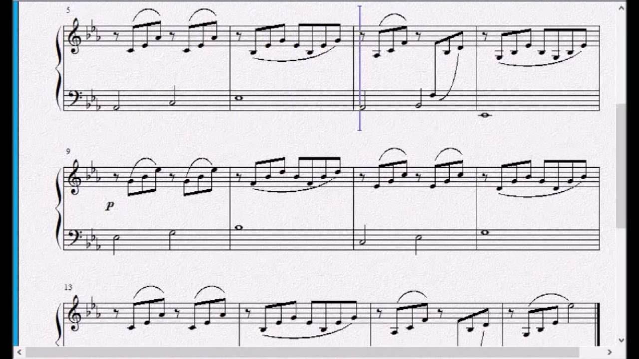 现代钢琴基础教程2_钢琴教学参考视频 《 汤普森现代钢琴教程 第二册》28 练习曲 ...