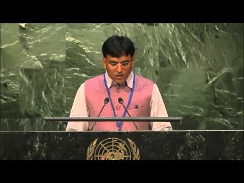 United Nations - General Assembly - ECOSOC - Speech at Economic & Social Council