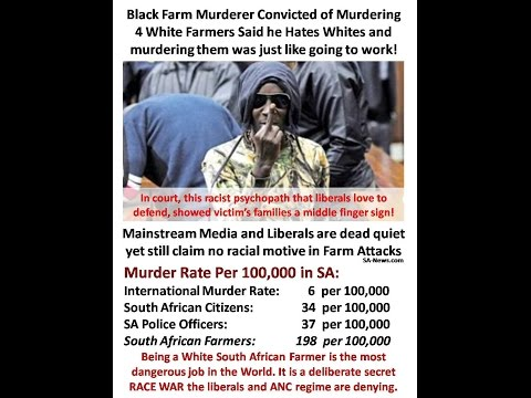 Imminent, Unstoppable South African Genocide! YOU have been informed and now have a duty to share