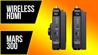 Wireless HDMI - MARS 300 & Nyrius Transmitter and Receiver