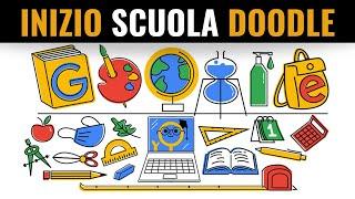 Inizio scuola Google Doodle | Primo Giorno Di Scuola 2020