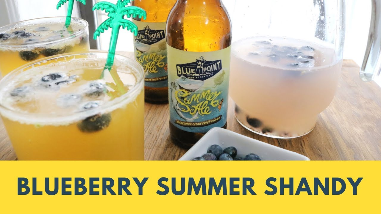 Where to buy leinenkugel s grapefruit shandy - How To Make A Blueberry Summer Shandy Beer Cocktail