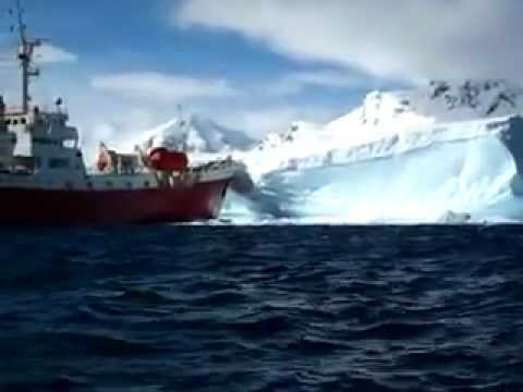 Cruise Ship Iceberg Crash Flv Youtube