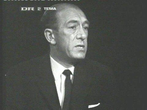 Statsminister Hilmar Baunsgaard om skat