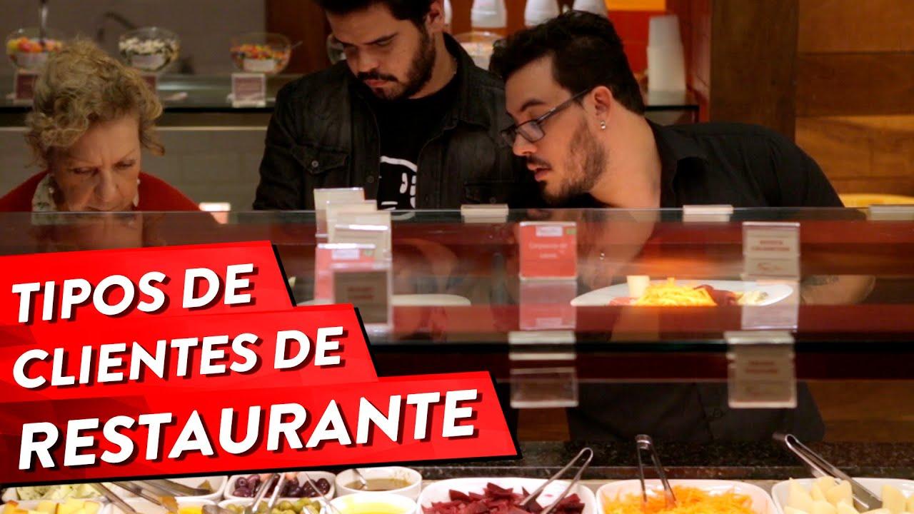 Parafernalha -  Tipos de clientes de restaurante