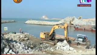 News1st:Megapolis and Western Development Ministry says 28% of port city land reclamation complete