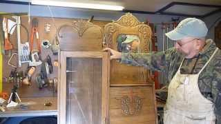 Refinishing The Secretary Part Iii By Hal The Woodmeister