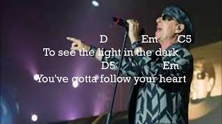 Скачать Scorpions Follow Your Heart Lyrics Guitar Chord