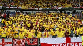 A Yellow & Blue Wall At The FA Cup Final | Arsenal