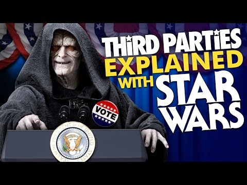 Third Parties Explained with STAR WARS | American Political History | Laughing Historically