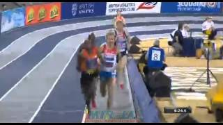 Bernard LAGAT 7:53.36 3000m Athletics Glasgow International Match