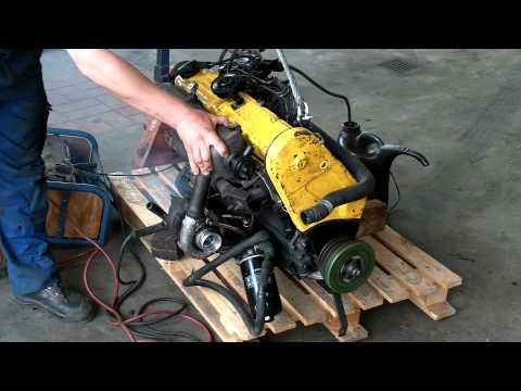 1. Probelauf VW LT 28 Motor