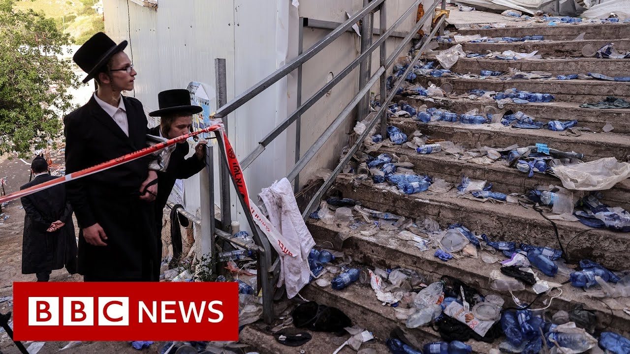 Dozens killed in crush at religious festival in Israel - BBC News - BBC News