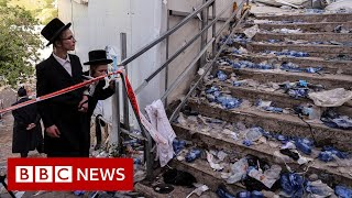 Dozens killed in crush at religious festival in Israel - BBC News