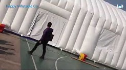 big inflatable tent large size white party tent